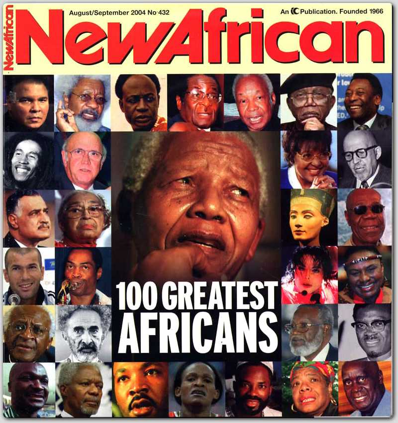 100 Greatest Africans by New African magazine