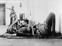 Starving Biafran Woman