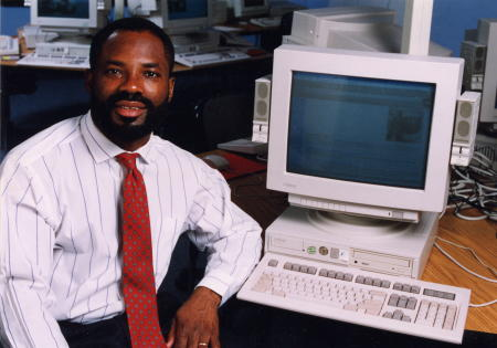father of the internet, supercomputer, IQ, quotes, family, timeline, bio, net worth, childhood, inventions, biography, computer, dale, invention, invented, Nigerian, African American, black man created
